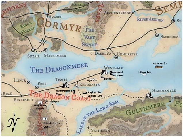 Autorealm WG map - Campaign 3a