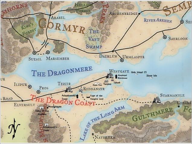 Autorealm WG map - Campaign 3b