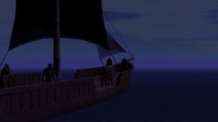 At sea in the Dragonmere